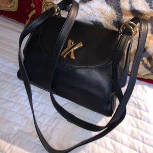 Paloma Picasso 2 way medium leather bag